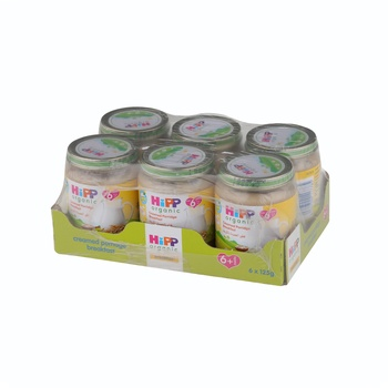 Hipp  Creamy Porridge Breakfast 6X125g