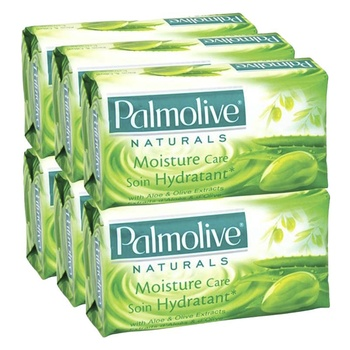 Palmolive Naturals Bar Soap Smooth and Moisture with Aloe Olive 120gm Pack of 6