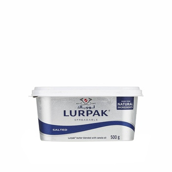 Lurpak Salted Spreadable Butter 500g