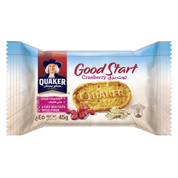 Quaker Good Start Cranberry 45g