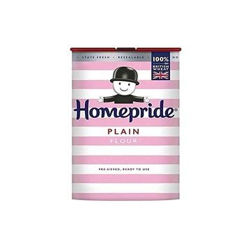 Home Pride Plain Flour 1kg Pack of 2