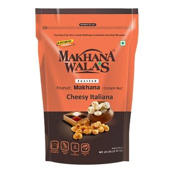 Makhanawala Roasted Makhana Cheesy Italian 80g