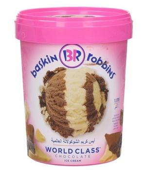 Baskin Robbins World Class Chocolate 1 ltr