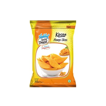 Vadilal Kesar Mango Slices 312g