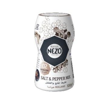 Nezo Salt & Black Pepper Mix  100g
