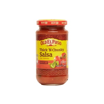 Old El Paso Hot Thick Salsa 226g