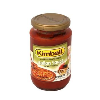Kimball Spaghetti Italian Sauce Traditional 350g