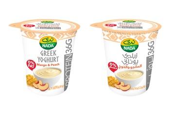 Nada Greek Yoghurt Mango & Peach 360g