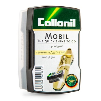 Collonil Mobil Shoe Polish Sponge - Colorless