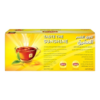 Lipton Yellow Label Tea Bags 25 X 2g