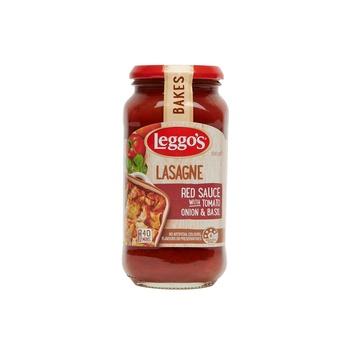 Leggos Lasagne Bake Red Sauce With Tomato Onion & Basil 500g