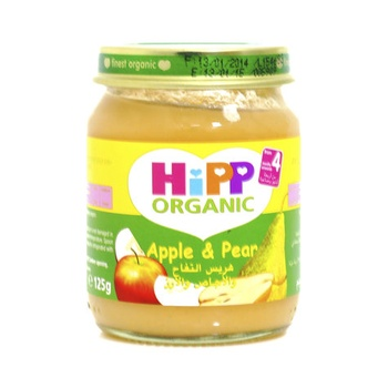 Hipp Organic Baby Food Apple & Pear 125g