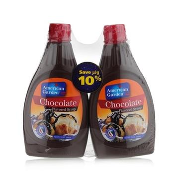 American Garden Chocolate Syrup 2 x 24oz.