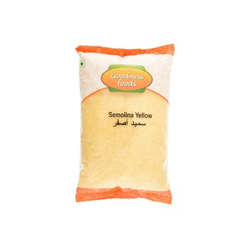 Goodness Foods Semolina Yellow 1kg