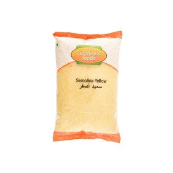 Goodness Foods Semolina Yellow 1kg
