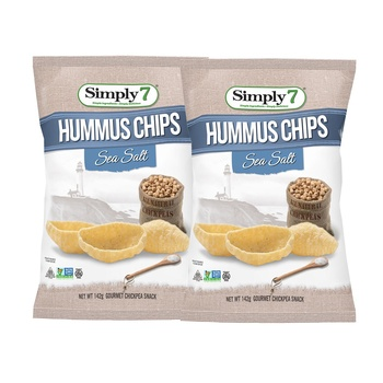 Simply7 Humus Sea Salt 2x46oz