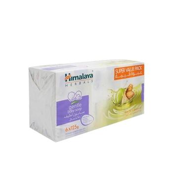 Himalaya Gentle Baby Soap W/Almond 6X125