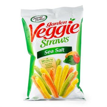 Sensible Portion Garden Veggie Straws Sea Salt 120g