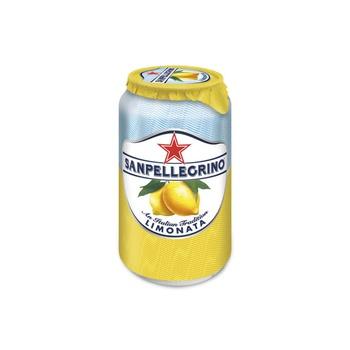 Sanpellegrino Sparkling Fruit Beverage Limonata/Lemon Can 330ml