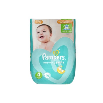 Pampers Active Baby 4 Large (8-14kg) 76pcs