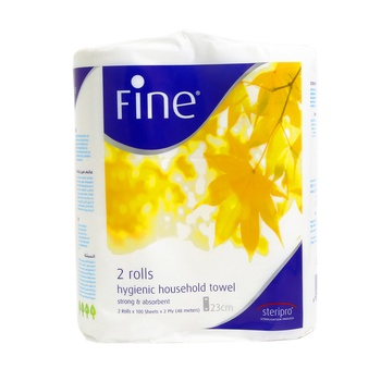 Fine Kitchen Towel 100 X 2 ply 2 pcs