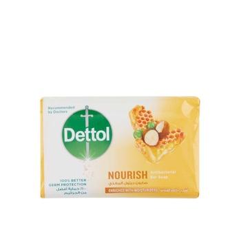 Dettol Nourish Antibacterial Bar Soap Honey & Shea Butter 165g