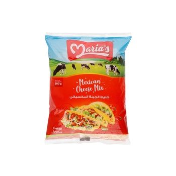 Marias Mexican Cheese Mix 200g