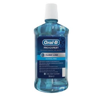 Oral-B Pro Expert Mouthwash Clinic Line Cool Mint Flavour 500ml