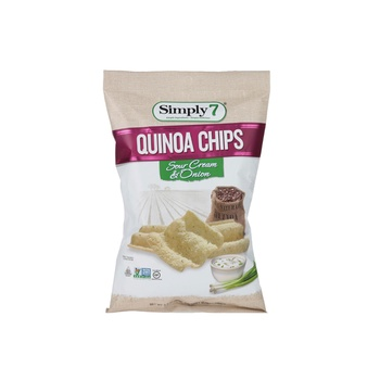 Simply 7 Chips Quinoa Sour Cream Onion 99g