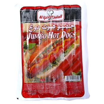 Al Kabeer Jumbo Hot Dog 400g
