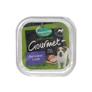 Natures Gift Gourmet Succulent Lamb Dog Food 100g