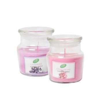 Samar Jar Candle with Lid Assorted