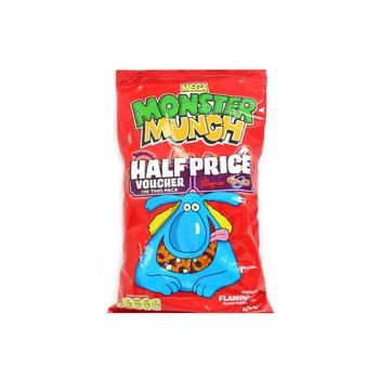 Walkers Monster Munch Flamin Hot 48g