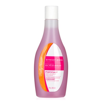 Sally Hansen Fast & Gentle Strengthening Nail Polish Remover 8oz