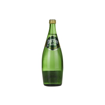 Perrier Natural Sparkling Mineral Water Glass Bottle 750 ml