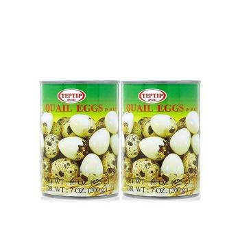 Teptip Quail Eggs 425g Pack Of 2