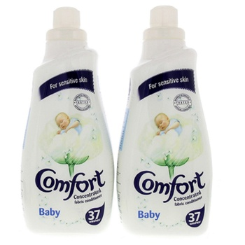 Comfort Concentrated Fabric Softener Baby 2X1.5ltr