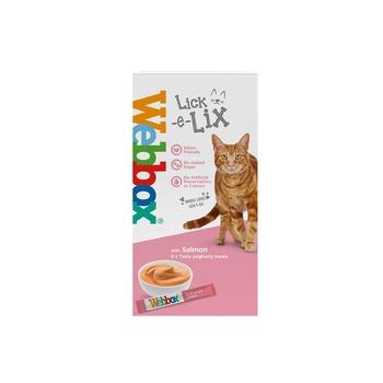 Webbox Cat Treat Lick E Lix Yoghurt Salmon 75g (5Pcs)
