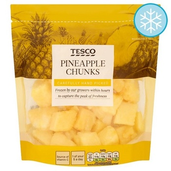 Tesco Pineapple Chunks 450g