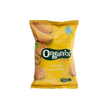 Organix Banana Rice Cakes 50g