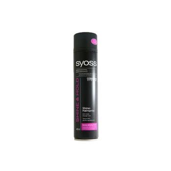 Syoss Hair Spray Shine Extra Strong Hold 400ml