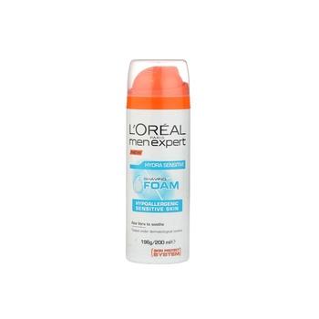 Loreal Men Expert Hydra Sensitive Shaving Foam 200 ml