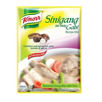 Knorr Sinigang Tamarind Soup Mix 22g