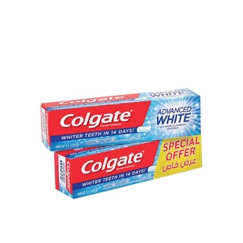 Colgate Toothpaste Total Advance White 100ml Pack Of 2