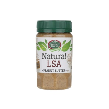 Mother Earth Peanut Butter Blend Nat 380g (Less Salt)