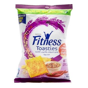 Nestle Fitness Toasties Mix Spices 36g