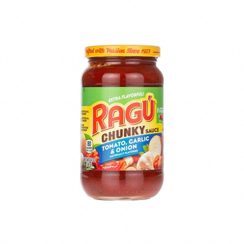 Ragu Chunky Pasta Sauce Tomato, Garlic & Onion 397g