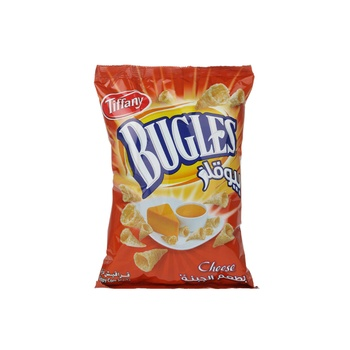 Tiffany Bugles Cheese Flavour 100g