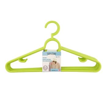JCJ Plastic Hanger- 5pcs Set