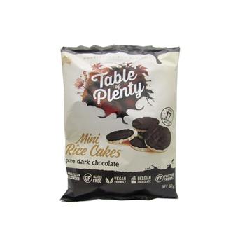 Table Of Plenty Dark Chocolate Mini Rice Cakes 60g